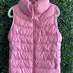 Uniqlo vest 3-4 yrs pink